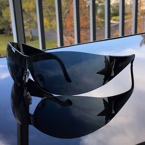Prada star wrap sunglasses